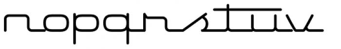 Starliner BTN Font LOWERCASE