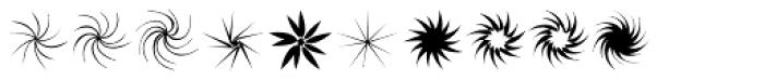 Stars NSpirals EF Regular Font OTHER CHARS