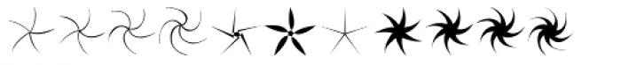 Stars NSpirals EF Regular Font UPPERCASE
