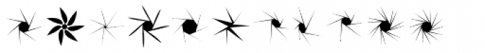 Stars NSpirals EF Regular Font LOWERCASE