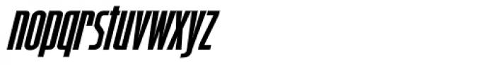 Starship Command Oblique Font LOWERCASE