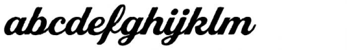 Stash Vintage Bold Font LOWERCASE