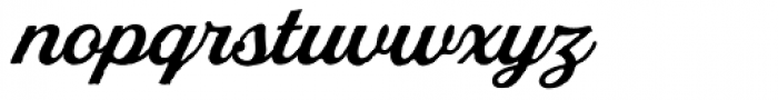 Stash Vintage Medium Font LOWERCASE