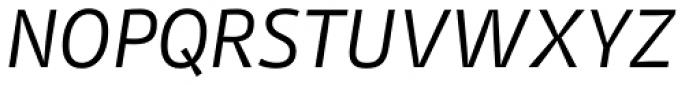 Stat Display Pro Oblique Negative Font UPPERCASE