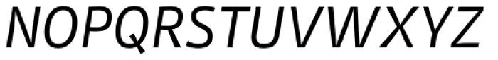 Stat Text Pro Oblique Font UPPERCASE