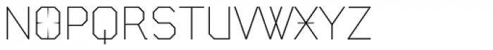 State Machine Light Font UPPERCASE