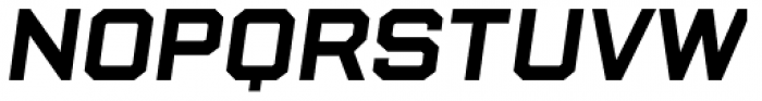 State Wide Bold Italic Font LOWERCASE