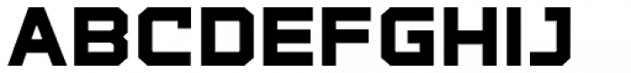 State Wide Extra Bold Font LOWERCASE