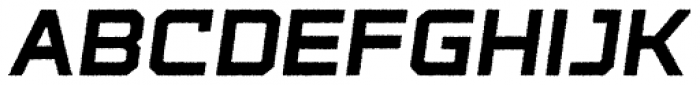 State Wide Rough Bold Italic Font LOWERCASE