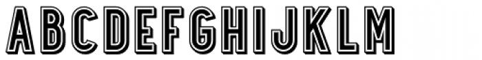 Station No.Five Font UPPERCASE