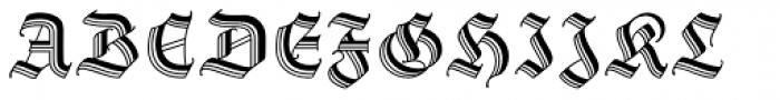 Staufer Gotisch Font UPPERCASE