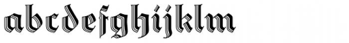 Staufer Gotisch Font LOWERCASE