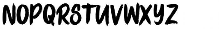 Stay Bold Regular Font UPPERCASE