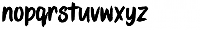 Stay Bold Regular Font LOWERCASE