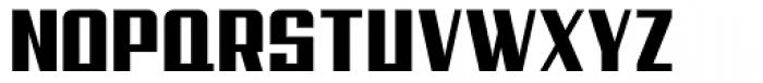 Steadfast Condensed Font UPPERCASE