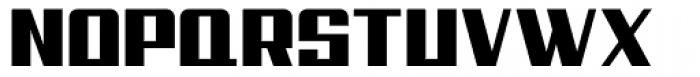 Steadfast Regular Font UPPERCASE