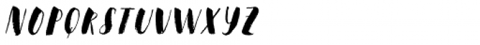 Steady Bonanza Alfa Font UPPERCASE