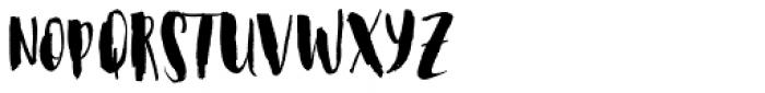 Steady Bonanza Script Too Font UPPERCASE