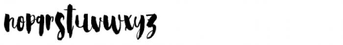 Steady Bonanza Script Too Font LOWERCASE