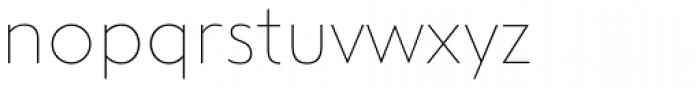 Steagal Thin Font LOWERCASE
