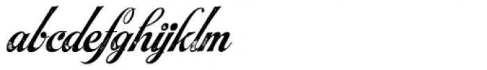 Steak Smoked Font LOWERCASE