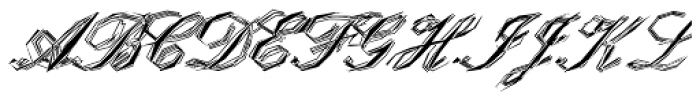 Steal Plate EF Font UPPERCASE