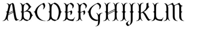 SteamCourt Light Font UPPERCASE