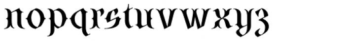 SteamCourt Medium Font LOWERCASE