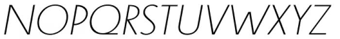 Steamer Light Italic Font UPPERCASE