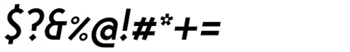 Steamer Medium Italic Font OTHER CHARS
