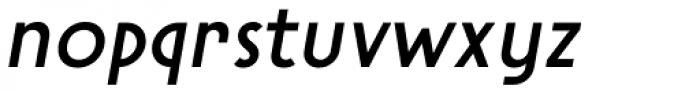 Steamer Medium Italic Font LOWERCASE