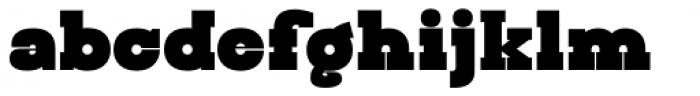 Steampunk Font LOWERCASE