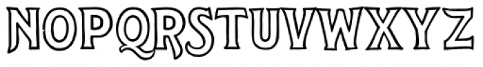 Steelyard Font UPPERCASE
