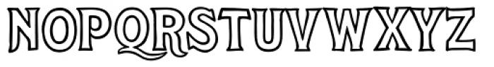 Steelyard Font LOWERCASE