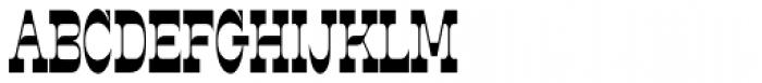 Steeplechase Font UPPERCASE