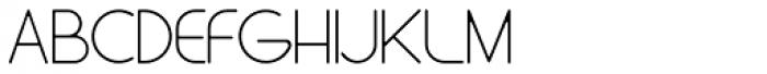 Stefani EHYO Thin Font UPPERCASE