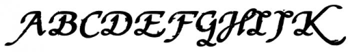 Stefania Antique Bold Font UPPERCASE