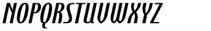 Steletto Neue Bold Oblique Font UPPERCASE