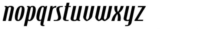 Steletto Neue Bold Oblique Font LOWERCASE