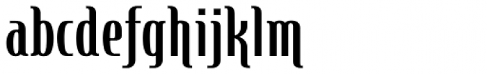 Steletto Neue Flair Bold Font LOWERCASE