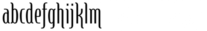 Steletto Neue Flair Regular Font LOWERCASE