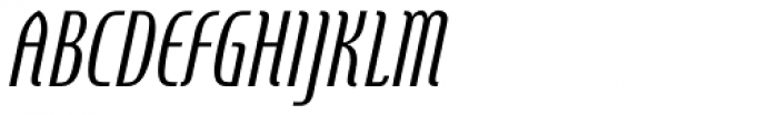 Steletto Neue Oldstyle Oblique Font UPPERCASE