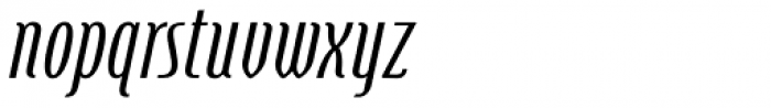 Steletto Neue Oldstyle Oblique Font LOWERCASE