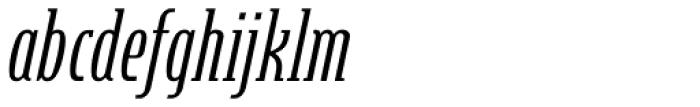 Steletto Neue Serif Oblique Font LOWERCASE