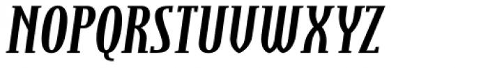 Steletto Serif Bold Italic Font UPPERCASE