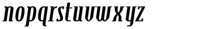 Steletto Serif Bold Italic Font LOWERCASE