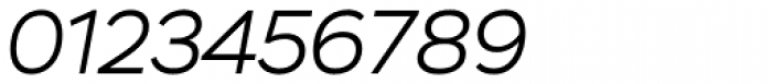 Stem Light Italic Font OTHER CHARS