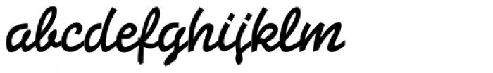 Stempel Elan Pro Bold Font LOWERCASE
