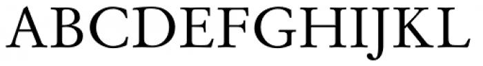 Stempel Garamond Pro Roman Font UPPERCASE
