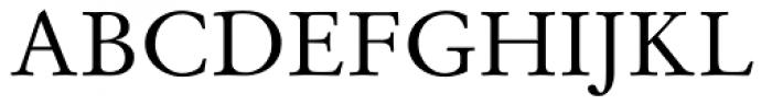 Stempel Garamond Roman Oldstyle Figures Font UPPERCASE